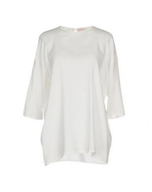 Блузка ROSSOPURO. Цвет: слоновая кость