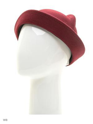 Шляпы UFUS. Цвет: бордовый