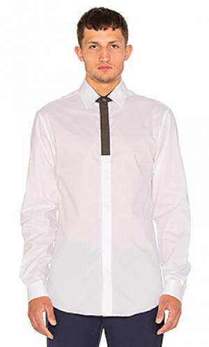 Рубашка teren Public School. Цвет: белый