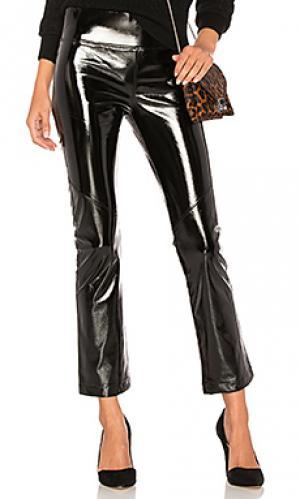 Расклешенные брюки whitman David Lerner. Цвет: черный