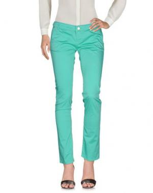 Повседневные брюки FRACOMINA. Цвет: светло-зеленый