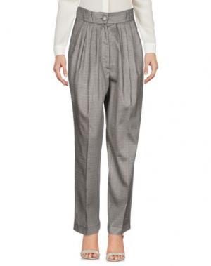 Повседневные брюки DANIELE CARLOTTA. Цвет: серый