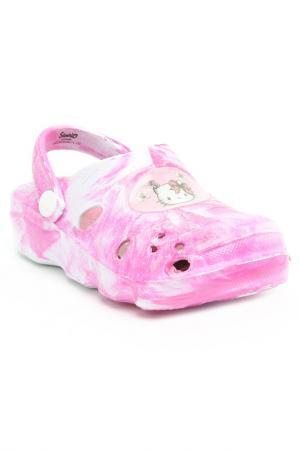 Сабо Hello Kitty. Цвет: розовый