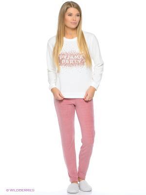 Пижама Women' Secret. Цвет: бежевый, розовый