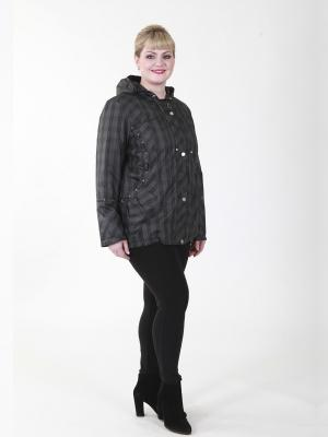 Куртка Салют VIKO. Цвет: черный, серый