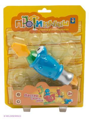 Игрушка Электроинструмент 1Toy. Цвет: желтый