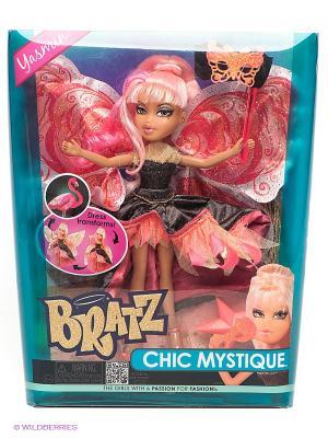 Кукла Сказочное превращение, Жасмин-Фламинго BRATZ. Цвет: коралловый, черный