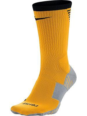 Носки U SQUAD CREW Nike. Цвет: оранжевый