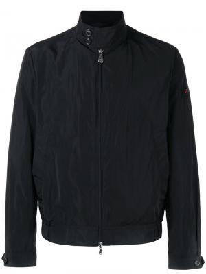 Куртка на молнии Peuterey. Цвет: чёрный