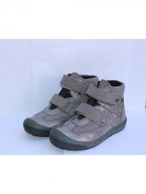 Ботинки Richter. Цвет: серый