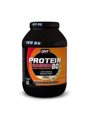 Протеин PRO 80 (ваниль), 750 г QNT. Цвет: черный, оранжевый, белый
