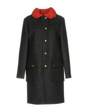 Пальто MARC BY JACOBS. Цвет: стальной серый