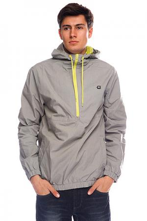 Анорак  Presd Jacket Grey Etnies. Цвет: серый