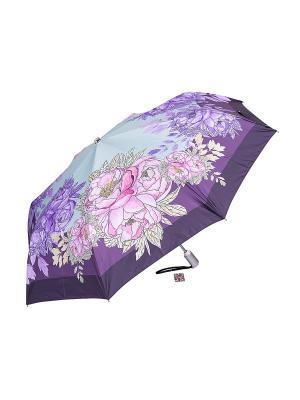 Зонт Slava Zaitsev. Цвет: фиолетовый