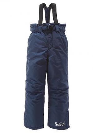 Лыжные брюки, SCOUT. Цвет: синий морской