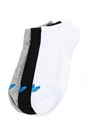 Комплект носков 3 пары adidas Originals. Цвет: разноцветный