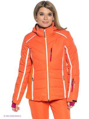 Куртка CMP. Цвет: оранжевый