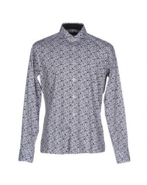 Pубашка DOMENICO TAGLIENTE. Цвет: серый