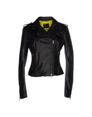 Куртка LEITMOTIV. Цвет: черный