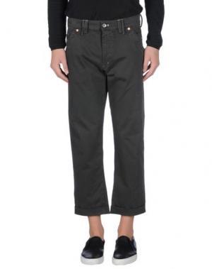 Повседневные брюки MASON'S JEANS. Цвет: свинцово-серый