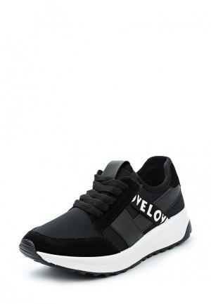 Кроссовки Ideal Shoes. Цвет: черный