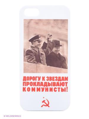 Чехол Mitya Veselkov. Цвет: белый, коричневый