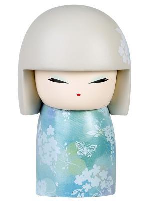 Кукла-талисман Юзуки (Терпение)  Размер mini (6х3,5 см.) Kimmidoll. Цвет: голубой