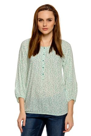 Блузка Tom Tailor 203136502707611. Цвет: кремовый
