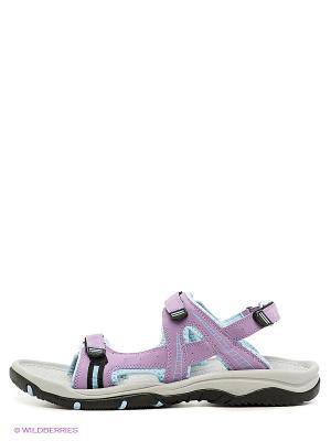 Сандалии Ascot. Цвет: фиолетовый, голубой