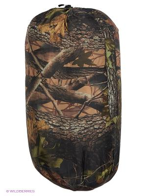 Спальный мешок-одеяло Huntsman. Цвет: темно-зеленый, коричневый, серый, черный