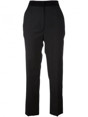 Классические брюки Mm6 Maison Margiela. Цвет: чёрный