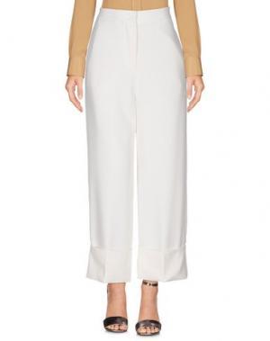 Повседневные брюки VICOLO. Цвет: слоновая кость