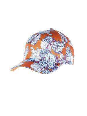 Бейсболка Migura. Цвет: оранжевый, синий, голубой