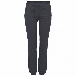 Брюки спортивные LEONA SLIM SWEAT PANTS ONLY PLAY. Цвет: серый меланж,черный