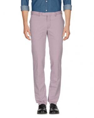 Повседневные брюки DOMENICO TAGLIENTE. Цвет: голубиный серый