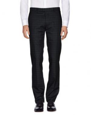 Повседневные брюки JOHN VARVATOS. Цвет: стальной серый