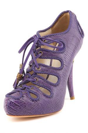 Ботильоны Dior. Цвет: фиолетовый