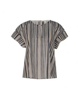 Блузка SOUVENIR. Цвет: стальной серый