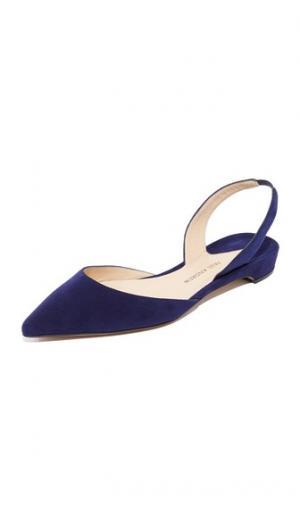 Замшевая обувь на плоской подошве Rhea Paul Andrew. Цвет: сумерки