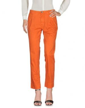 Повседневные брюки SIVIGLIA WHITE. Цвет: оранжевый