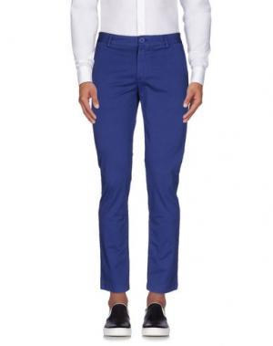 Повседневные брюки STILOSOPHY INDUSTRY. Цвет: синий