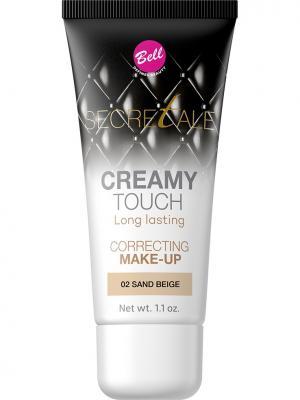 Bell Тональный Крем Маскирующий Несовершенства Secretale Creamy Touch Correcting Make-up Тон 02. Цвет: светло-коричневый