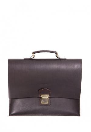 Портфель Handsel. Цвет: коричневый