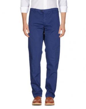 Повседневные брюки NEW ENGLAND. Цвет: синий