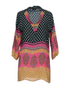 Блузка TOLANI. Цвет: черный