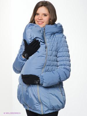 Куртка Nuova Vita. Цвет: серо-голубой