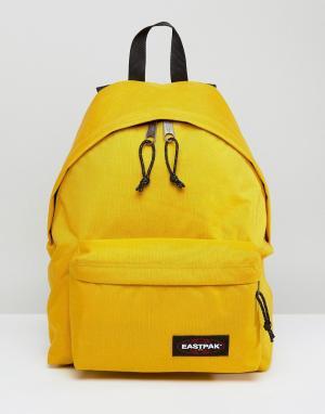 Eastpak Желтый рюкзак PakR. Цвет: желтый