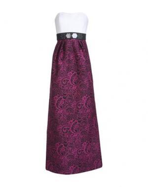 Длинное платье MARY KATRANTZOU. Цвет: фиолетовый