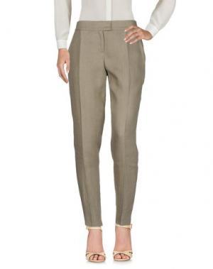 Повседневные брюки ANDREW GN. Цвет: хаки