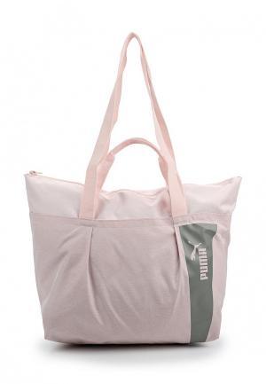 Сумка спортивная PUMA. Цвет: розовый
